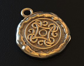 Viking ornament north pagan amulet 3D printable model