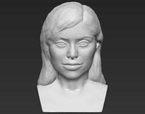 Kylie Jenner bust 3D printing stl obj formats kim
