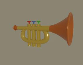 3D model Trumpet Toy