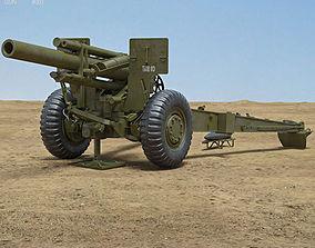 3D M114 155 mm Howitzer
