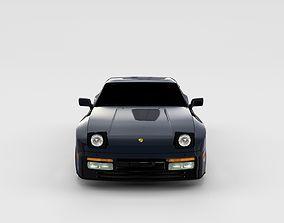 3D model Porsche 944 Turbo rev