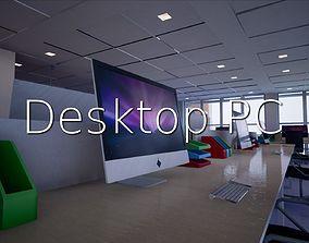 Desktop PC SHC Quick Office LM 3D model