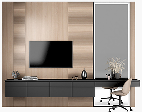 3D model TV stand and Dressing table 54