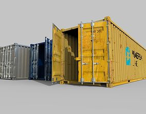 transport Maritime container 3d model