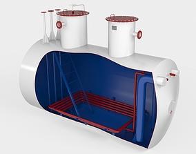 3D EPP 20-2400 Storage tank