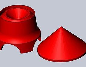 Toilet Paper Roll Rocket 3D printable model