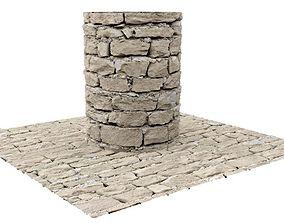 3D Brick Seamless Texture