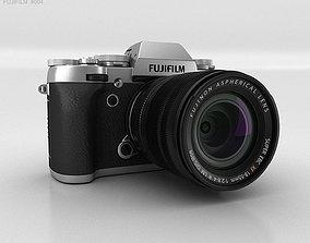 Fujifilm X-T1 Silver 3D