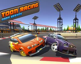 Toon Racing 3D model