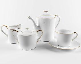 3D asset Tea-set TISAR