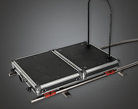 3D model HLW - Dolly Track - PBR Game Ready