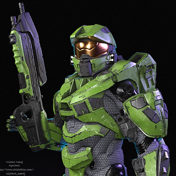 Master Chief (Improved Lighting)
