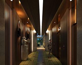 3D model Caobang Hotel Lobby