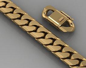 cuban bracelet 0118 3D print model