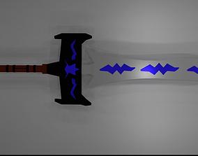 adobe-challenge-designer-schwag 3D asset realtime sword
