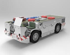 US Navy Carrier Fire Tractor Poser 3D model