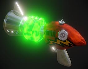 Neo Cortex Ray Gun - Crash Bandicoot 3D model