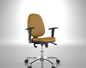Ergonomic Office Chair 3D model interior