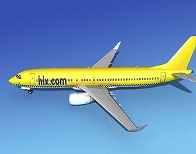 Boeing 737-800 HLX 3D