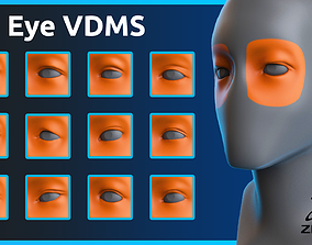 Zbrush - Eye - VDM Brushes 3D
