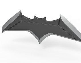 Batarang from the movie Batman v 3D printable model 5