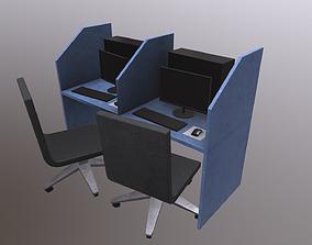 3D asset PC Desk