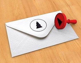 3D printable model Stamp 3 Christmas tree
