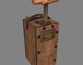 3D model Detonator