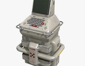 Sci-Fi Console PBR 3D model game-ready