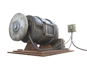 3D asset diy GrindStone