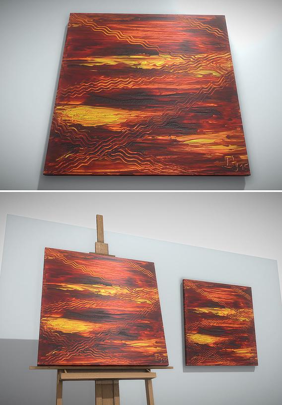 Ways - Oil Painting