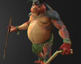 Game fictional characters Xeno Hunter 3D printable model