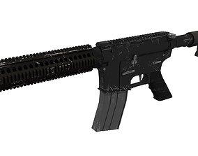 M4A1 Cartoon 3D model