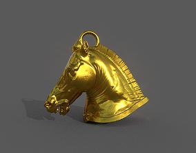 3D printable model keychains horse
