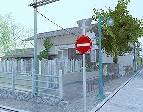 3D model Japanese Block - Kochiku