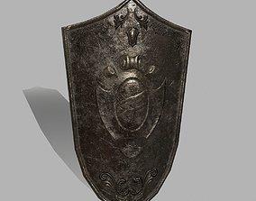 3D model low-poly rome Shield