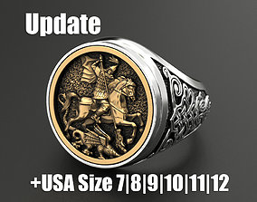 Ring St George 3D printable model