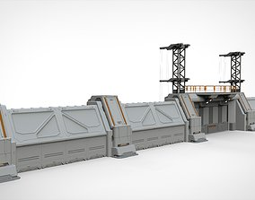 sci-fi Wall 3 3D