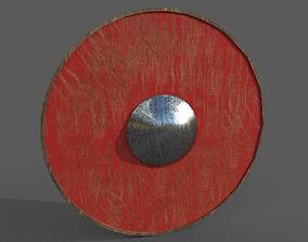 3D asset Saxon Shield