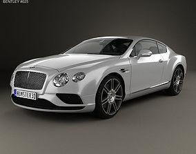 3D british Bentley Continental GT 2015