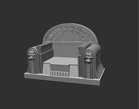 3D print model boba throne