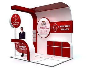 Exhibition Stand 3D architectural
