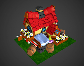 3D asset Toon build