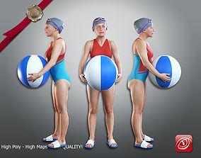 SwwimmingPool Female ACC 2130 009 3D model