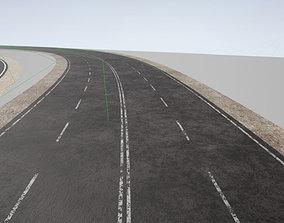 Advanced Road Materials - UE4 3D asset