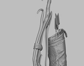 3D arc arrow