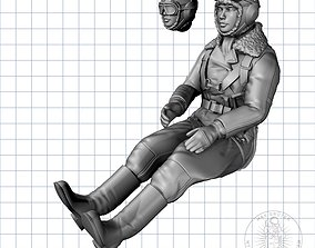 Soviet Female Pilot 3D printable model