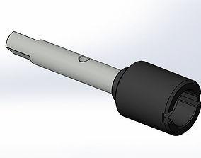 Tamiya TT-01 E Main Drive Shaft Joint 3D Print Model