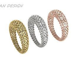 3D print model Ring Italy