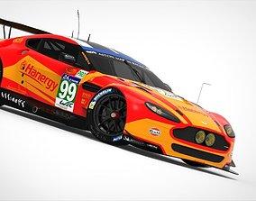Aston Martin Vantage GTE 2015 3D asset